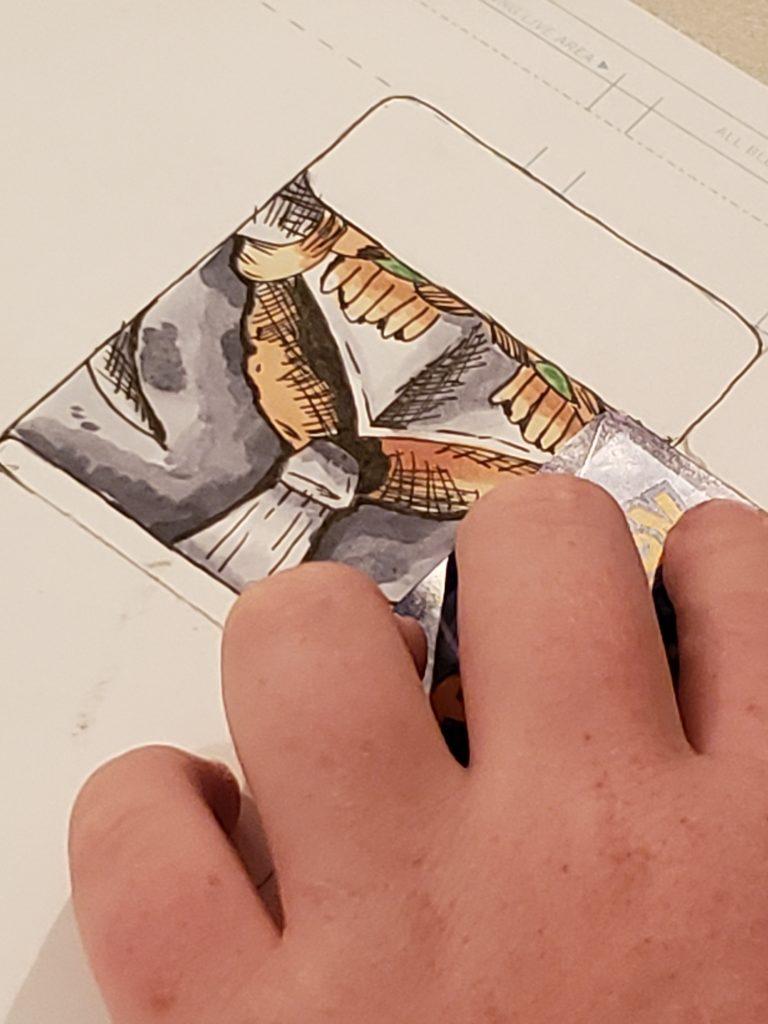 Card Creation - Comic Book2